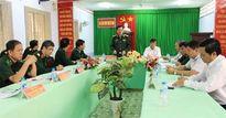 Thượng tướng Nguyễn Thành Cung làm việc với UBND tỉnh Tây Ninh