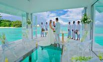Bên trong thánh đường hôn lễ đẹp như tiên cảnh ở Maldives