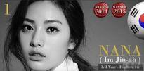 Mỹ nhân Hàn Nana là gương mặt đẹp nhất thế giới 2015
