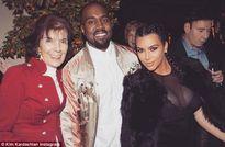 Kim Kardashian diện váy sexy hết cỡ sau sinh