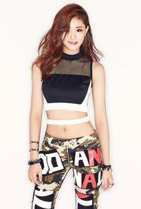 Ngôi sao K-pop Nana được chọn là Gương mặt đẹp nhất năm 2015