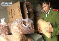 Phát hiện hơn 7 tấn thực phẩm sấy khô không rõ nguồn gốc