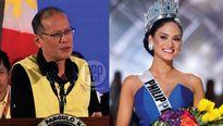 Hoa hậu Hoàn vũ nói về nghi vấn hẹn hò Tổng thống