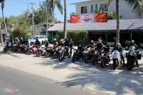 Hơn 20 chiếc KTM tập trung về phố biển Phan Thiết