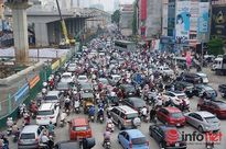 Hà Nội còn tới 44 điểm ùn tắc giao thông