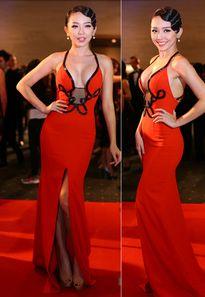 'Bóc mẽ' style thời trang khoe ngực của mỹ nhân Việt