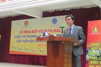 Trao giải cuộc thi Phòng chống bệnh tật học đường