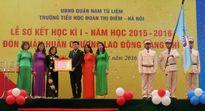 Trường Tiểu học Đoàn Thị Điểm (Hà Nội) đón nhận Huân chương Lao động hạng Nhì
