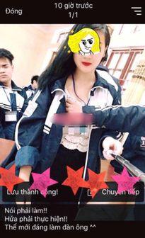 Phụ huynh ngã ngửa khi con gái cho bạn trai sờ ngực chụp ảnh