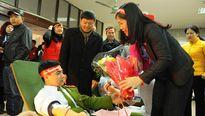 Quảng Ninh: Hàng trăm bạn trẻ hiến máu trong giá rét