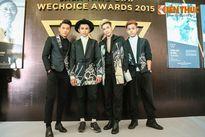 Dàn sao hội tụ tại đêm Gala trao giải WeChoice Awards 2015