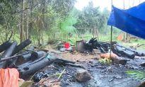 Thanh Hóa: Rét quá đốt lửa sưởi ấm cho lợn, cháy luôn nhà