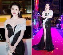 Tuyển tập váy khoét xẻ, xuyên thấu của nàng hậu Việt