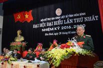 Đại Hội thành lập Hội Hỗ trợ gia đình liệt sĩ tỉnh Hòa Bình
