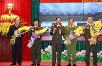 Bộ Công an mít tinh chào mừng thành công Đại hội Đảng toàn quốc lần thứ XII