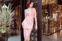 Hoa hậu Trúc Diễm trẻ trung diện váy ren đi chơi xuân