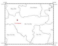 Quảng Nam: Tiếp tục xảy ra động đất 3,7 độ Richter tại Bắc Trà My