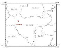 Quảng Nam liên tiếp chịu động đất tại Bắc Trà My