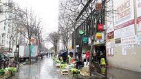 Chợ liều ở khu châu Á, Paris