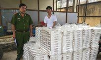 Công an thu giữ gần 15.000 bao thuốc lá ngoại nhập lậu