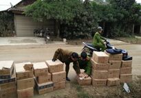 Lào Cai: Giáp tết Nguyên Đán bắt giữ nhiều mặt hàng nhập lậu