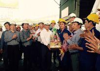 Chủ tịch Tổng Liên đoàn Lao động VN thăm và chúc Tết Công ty Phân bón Bình Điền