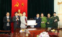 Đồng chí Huỳnh Thanh Điền chúc tết tại Thị xã Thái Hòa và Thành phố Vinh