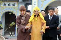 Lãnh đạo Hà Nội chúc Tết Trưởng lão Hòa thượng Thích Phổ Tuệ