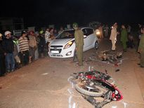 Vượt xe máy cày không quan sát, 2 nam thanh niên tử vong tại chỗ