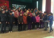 AMD Group trao 266 suất quà cho các hộ nghèo xã Yên Lâm vui xuân Bính Thân