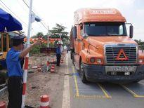 Cấm xe tải lưu thông trong nội thành Hà Nội cận Tết Nguyên đán