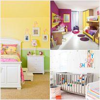 Chọn màu tươi sáng nổi bật cho phòng bé thêm ấn tượng