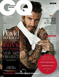 David Beckham nam tính, cuốn hút vượt thời gian