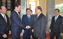 Thường trực Thành ủy Đà Nẵng tiếp Phó Thủ tướng Nguyễn Xuân Phúc thăm, chúc Tết Bính Thân 2016