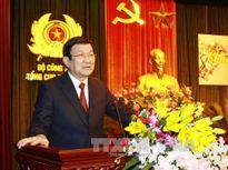Chủ tịch nước chúc Tết Tổng cục 5 - Bộ Công an