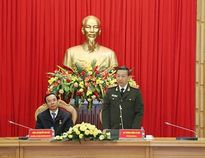 """Bộ Công an tổ chức Lễ trao Kỷ niệm chương """"Bảo vệ an ninh Tổ quốc"""""""