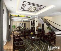 Thiết kế nội thất sang trọng nhà 136m2 chào xuân Bính Thân