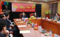 Chủ tịch nước Trương Tấn Sang chúc Tết một số cơ quan, đơn vị