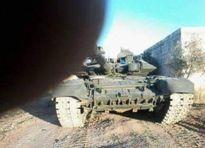 Tăng T-90 tung cú đánh sấm sét tại Aleppo