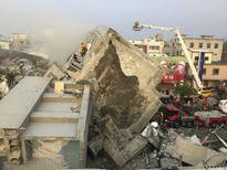 Động đất kinh hoàng tấn công Đài Loan