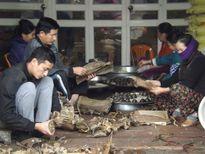 Thăm làng nghề bánh gai Tứ Trụ xứ Thanh trước ngày Tết