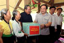 Nhiều công trình tái định cư thủy điện Sơn La hoàn thành trước Tết