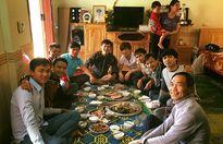 Bữa cơm tất niên ấm cúng nhà Công Phượng