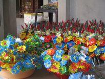 Đến Thanh Tiên xem nghề làm hoa giấy Tết