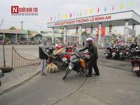 Khung cảnh vắng vẻ bến xe Đà Nẵng ngày cận tết
