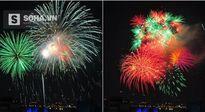 Pháo hoa đã nổ chào đón năm mới Bính Thân 2016