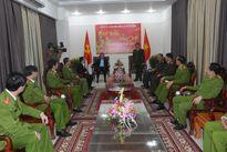 Bí thư Thành ủy Nguyễn Xuân Anh thăm, chúc Tết các đơn vị trước thềm năm mới
