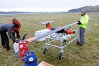 Lần đầu tiên bay thử máy bay drone sử dụng pin nhiên liệu hydro rắn trọng lượng nhẹ, bay được 2 giờ