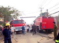 Cháy xưởng loa 600m2 tại TP.HCM