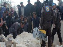 Hàng nghìn người dân Syria đang tìm cách trốn chạy khỏi các cuộc không kích